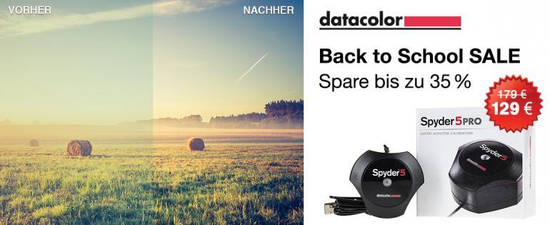 """Datacolor """"Back to School""""-Promotion: Jetzt bis zu 160 Euro sparen"""