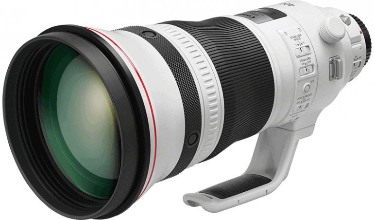 Canon stellt drei neue Festbrennweiten vor, mit dabei zwei leichte EF-Teleobjektive