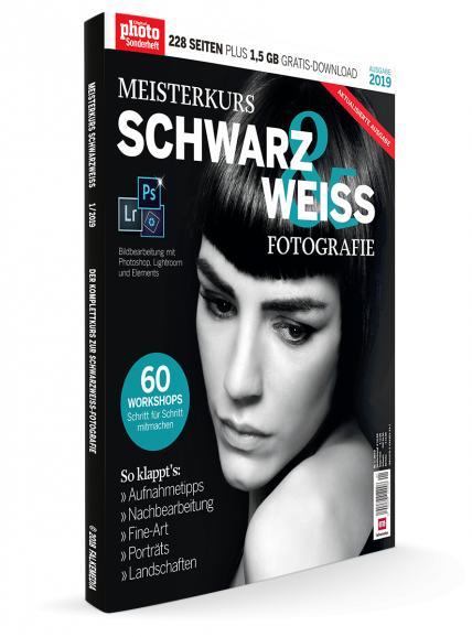 Meisterkurs Schwarzweiß-Fotografie 2019: Aktualisierte Auflage ab sofort im Handel!