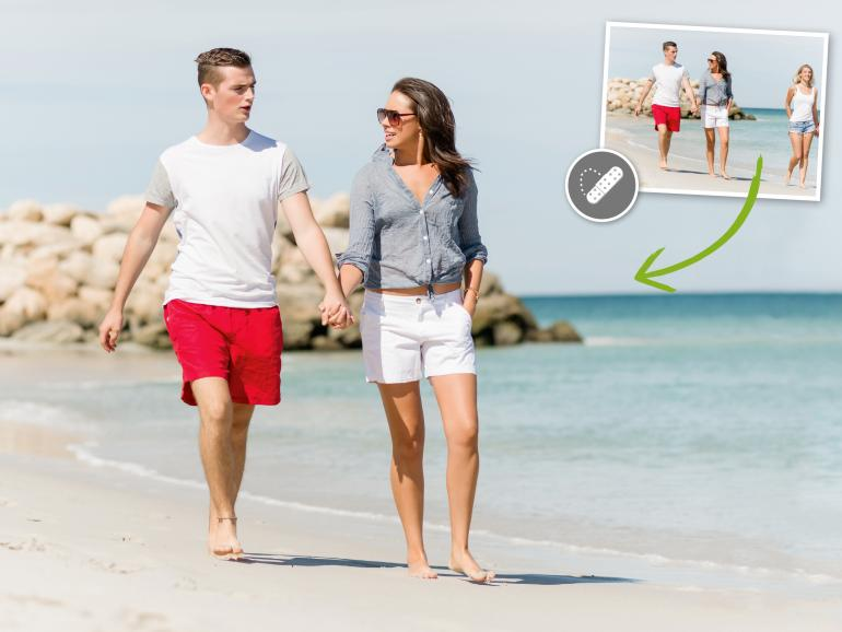 Bereichsreparatur-Pinsel: Photoshop einfach erklärt