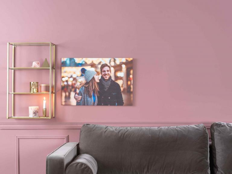 Viel schöner als Kunstdrucke aus dem Möbelhaus: Wandbilder mit eigenen Fotos.