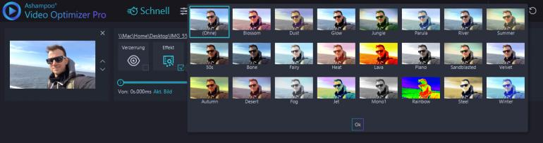Ashampoo Video Optimizer Pro im Test – Fotobearbeitung für bewegte Bilder