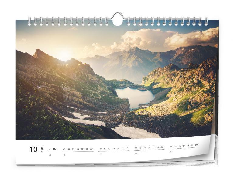 Jetzt 20% sparen: Erstellen Sie Ihren Pixum Fotokalender für 2019 mit eigenen Motiven