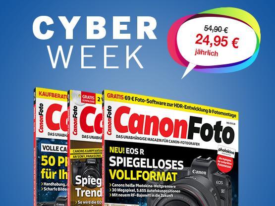 Nur noch heute! CanonFoto Abo im exklusiven Cyber Week Angebot