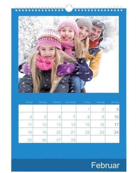 Die Kalender Digitaldruck eignen sich mit ihrem beschreibbaren Papier  besonders, wenn man sich Termine aufschreiben möchte.