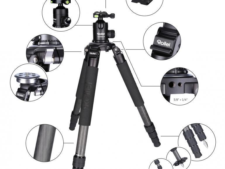 Ein Stativ ermöglicht Langzeitbelichtungen und ist essenziell beim Fotografieren im Dunkeln.