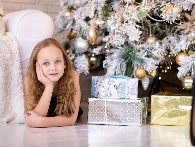 So gelingen perfekte Familienfotos an Weihnachten