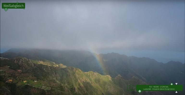 Alle Farben des Regenbogens umgeben uns ständig.