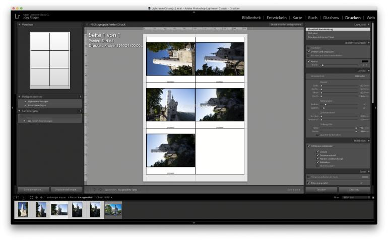 Richtig gut – die flexible Druckfunktion für den schnellen Überblick Ihrer Fotosammlung.