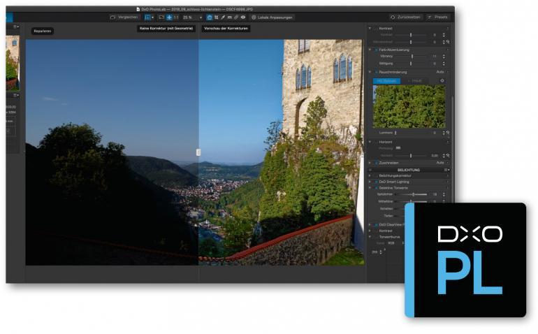 Optimale Bildergebnisse mit Automatik, ClearView und Smart Lighting.