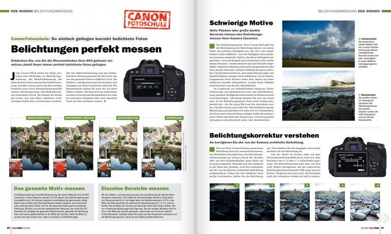 CanonFoto 02/2019 ab sofort erhältlich: So gelingen einzigartige Naturfotos!