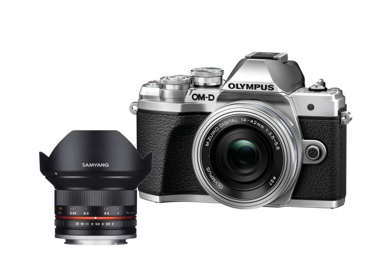 Einsteiger-Kit für 888 Euro:Olympus OM-D E-M10 Mark III und Samyang 12mm f/2 NCS CS.