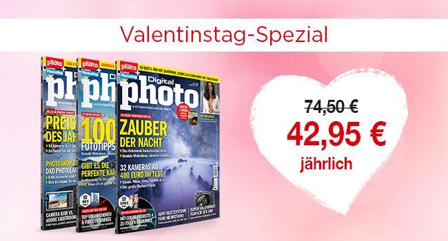 Valentinstag: 5 Geschenkideen für Foto-Fans