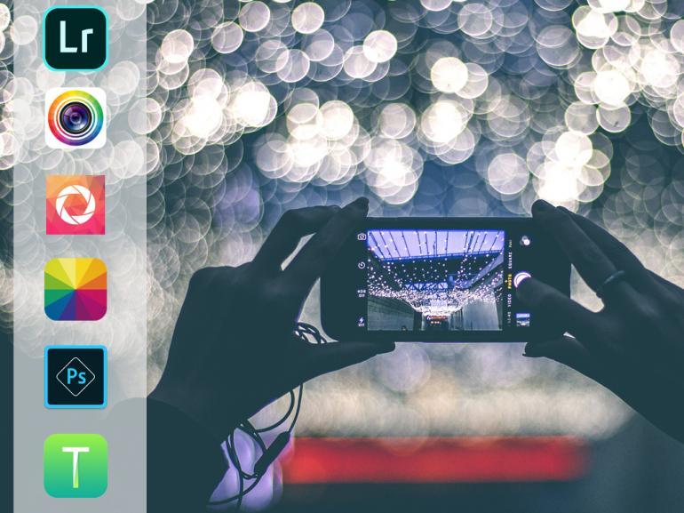 Foto-Apps 2019: Bildbearbeitung unterwegs