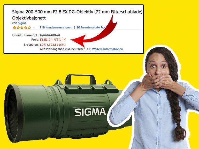 Telezoomobjektiv: Ist das Sigmas beliebteste Optik?