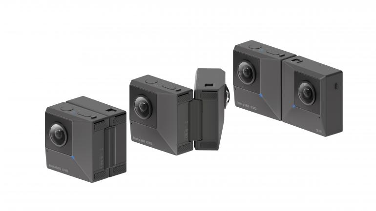 Insta360Evo: Neue 360-Grad-Kamera mit zusätzlicher 3D-Funktion