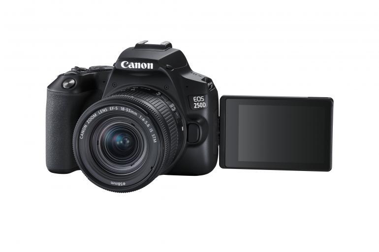 Neue DSLR-Kamera von Canon: EOS 250D