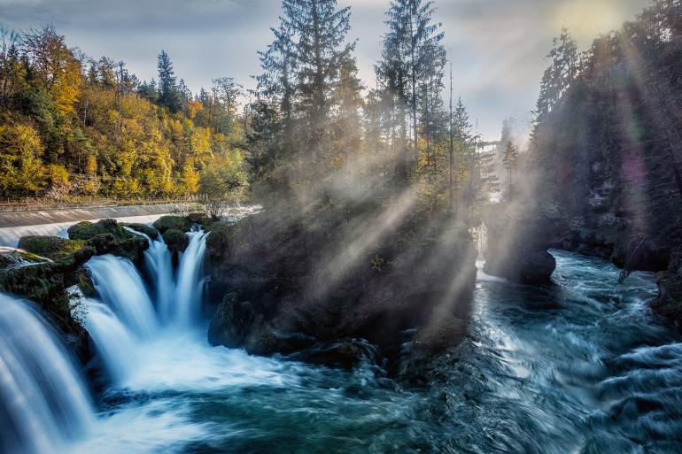 Triberger Wasserfälle & Co. - 10 Wasserfälle in Deutschland und Umgebung
