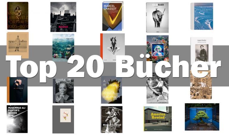 Bücher für Fotografen: 20 faszinierende Bildbände