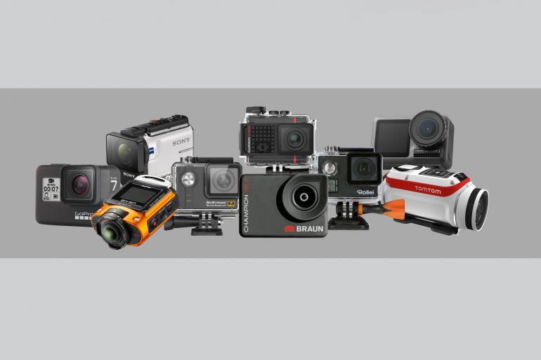 Helmkamera Test: GoPro Hero 7 vs. DJI Osmo Action & weitere