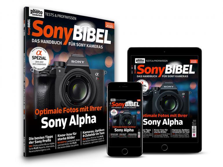 SonyBIBEL 01/2020 - Kameras, Objektive & Zubehör im Test