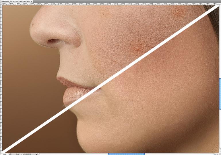 Beauty-Retusche: Haare glätten mit Photoshop