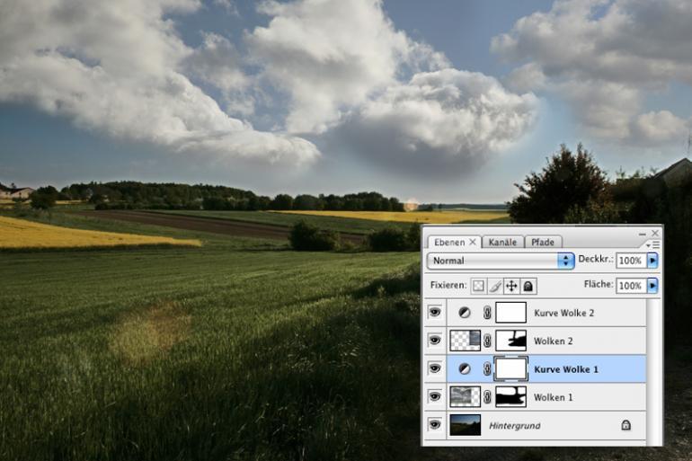 Mit Photoshop Landschaftsaufnahmen beleben