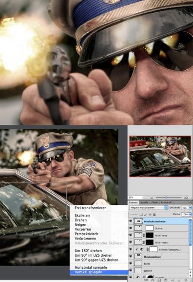 Photoshop: Licht und Farbe für Action-Montagen