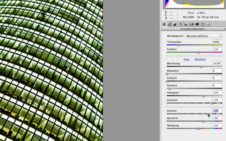 Photoshop: Langzeitbelichtungen farblich auffrischen