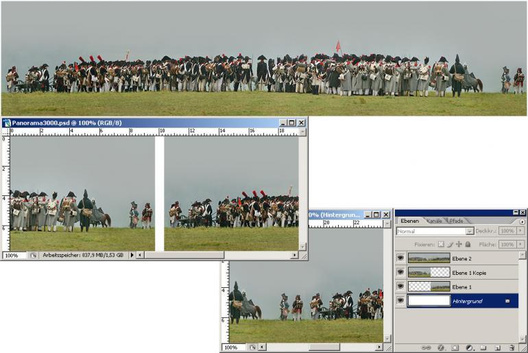 Photoshop-Montage: Vom Panorama zur Kugel