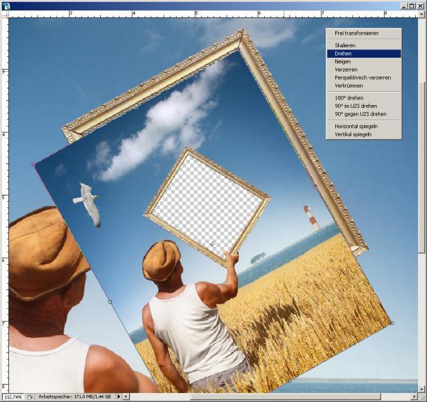 Photoshop: STRG+T – Das Power-Tool für Montagen