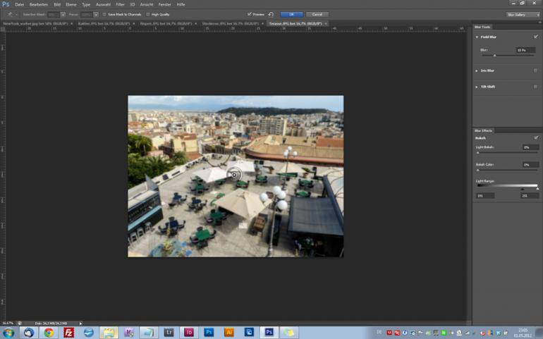 Photoshop CS6: Coole Weichzeichner