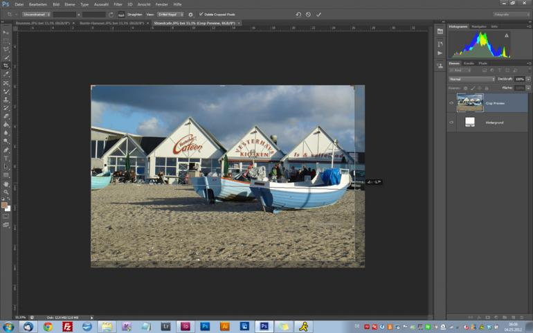 Photoshop CS6: Komfortabler Bildbeschnitt