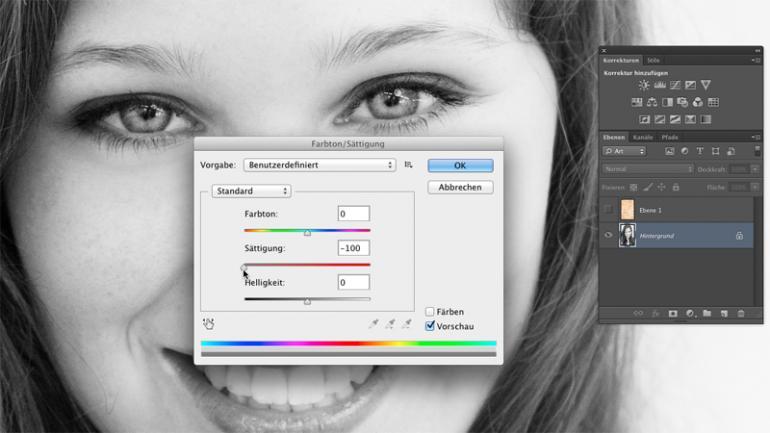 Photoshop: Fotos in Minuten um Jahre altern lassen