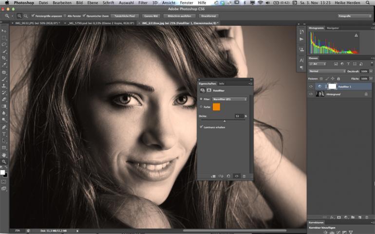 Photoshop: Drei einfache Wege zur perfekten Sepiatönung