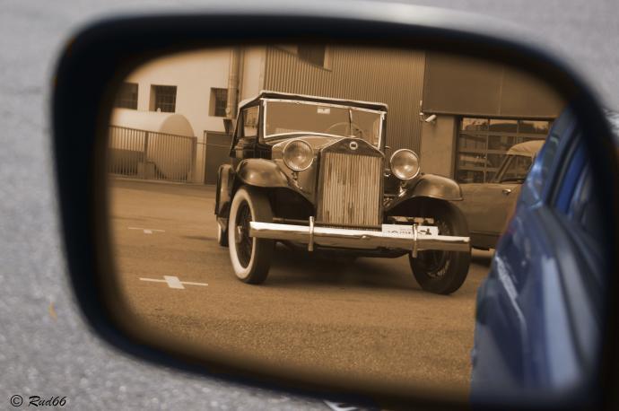 Blick in die Vergangenheit
