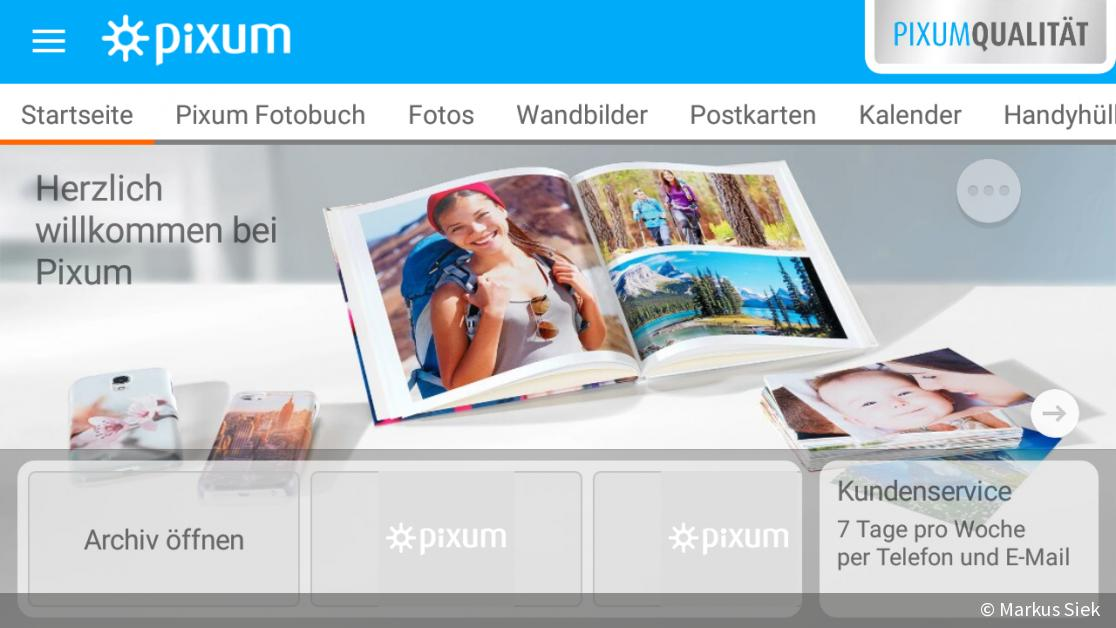 fotodienste online services von fujifilm und pixum im test digitalphoto. Black Bedroom Furniture Sets. Home Design Ideas
