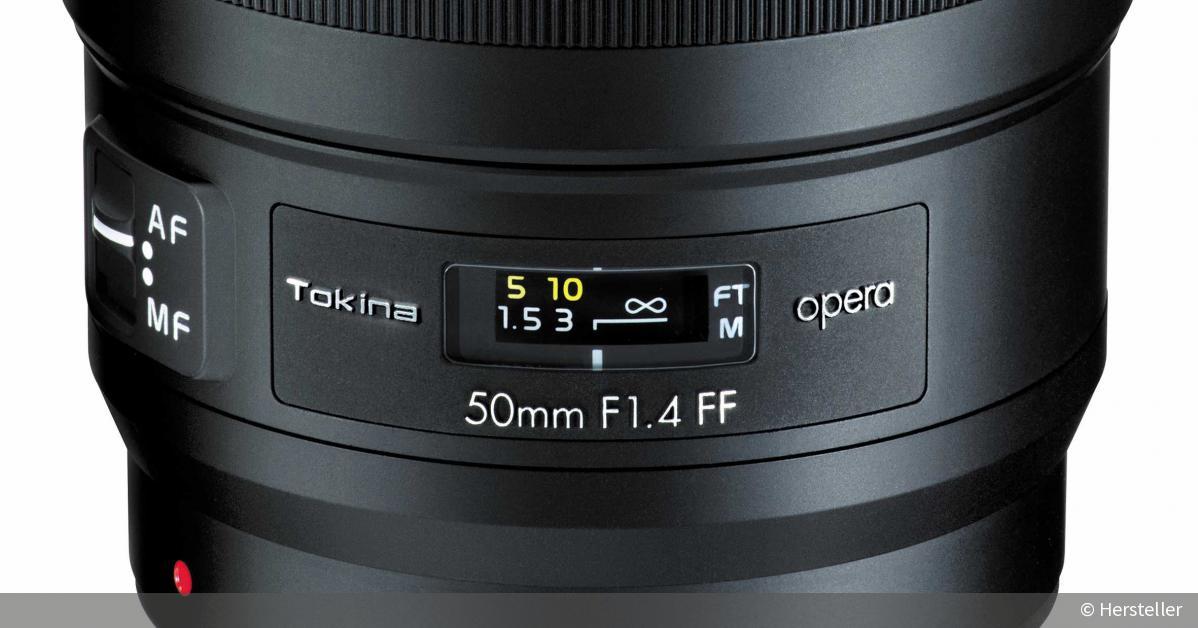 Tokina opera 50mm F1.4 FF - Start einer neuen Objektiv-Serie ...