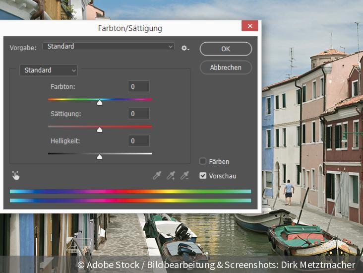 Farbtonsättigung Photoshop Einfach Erklärt Digitalphoto
