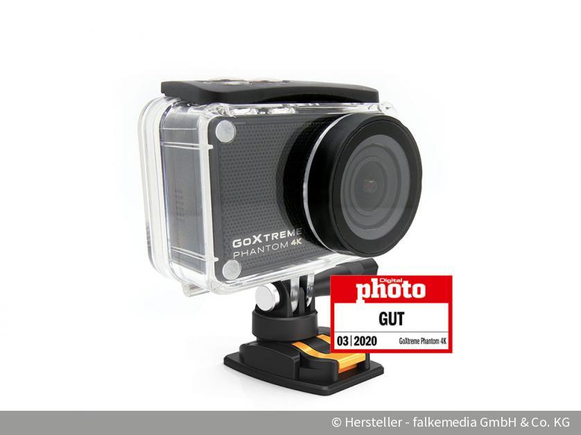 Neue Action-Cam für 199 Euro im Test: Kann die GoXtreme Phantom 4K DJI und GoPro schlagen? | DigitalPHOTO