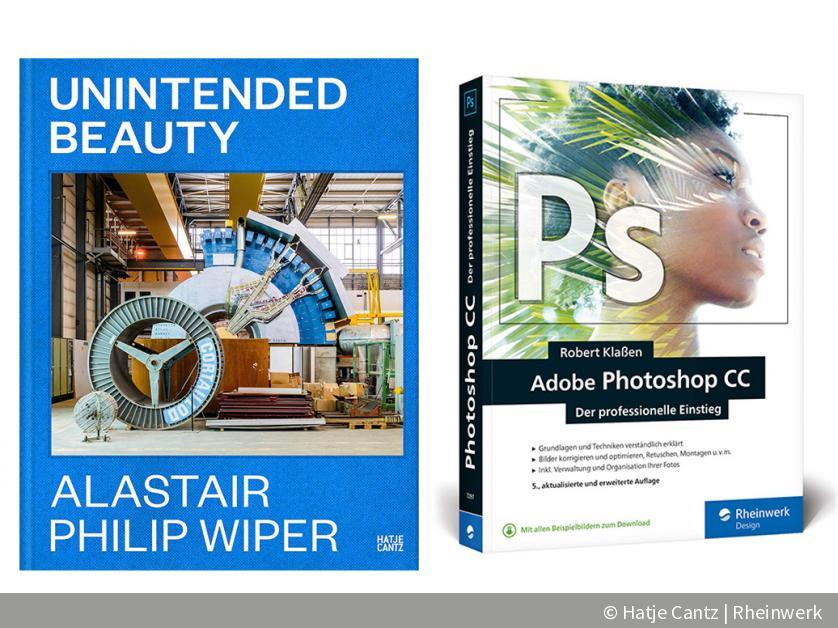 Neue Bücher für Fotografen: Straßenfotografie, Photoshop CC & Industrieanlagen | DigitalPHOTO