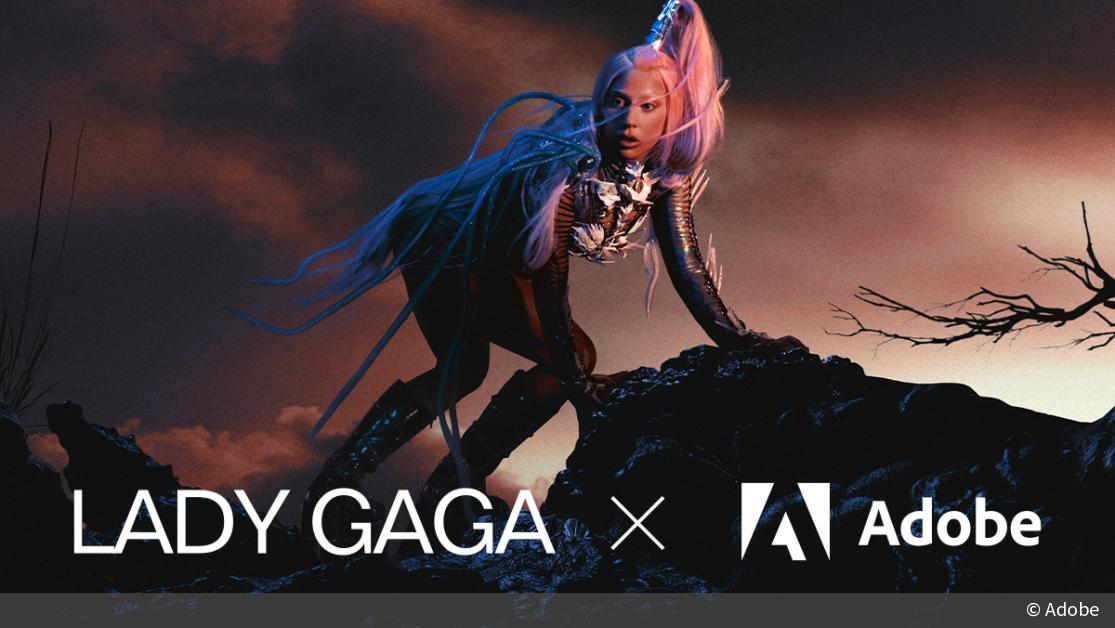 Kreative Herausforderung: Lady Gaga und Adobe starten gemeinsame Challenge | DigitalPHOTO