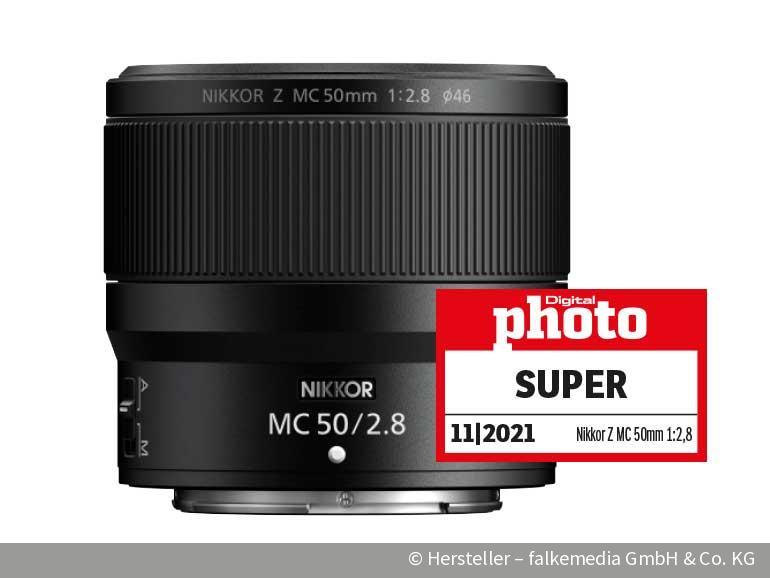 Kompaktes Makro: Nikkor Z MC 50mm 1:2,8 im Test | DigitalPHOTO