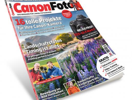 Ab sofort im Handel: Das CanonFoto-Magazin 2/2016