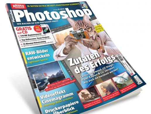 Neu im Handel: Die DigitalPHOTO Photoshop 4/2016