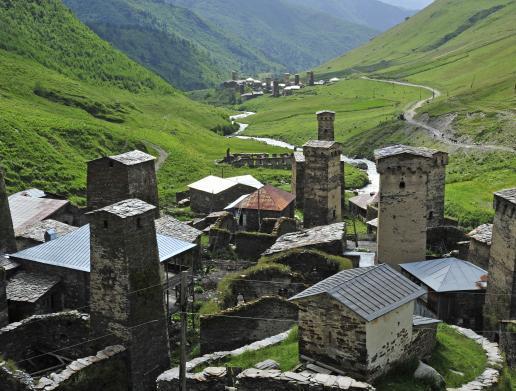 Weltenbummler: In den Bergen Georgiens