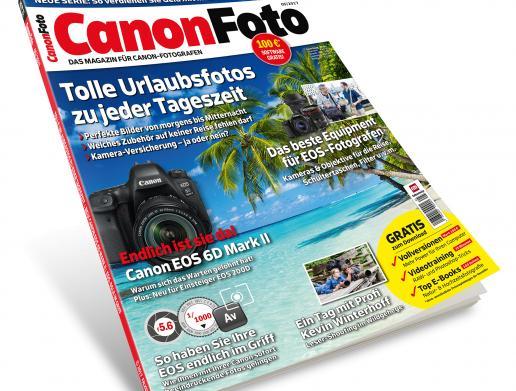 CanonFoto 5/2017 - Reisefotos mit Ihrer Canon, EOS 6D Mark II im Check