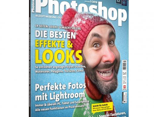 Jetzt neu und am Kiosk: DigitalPHOTO Photoshop 1/2018