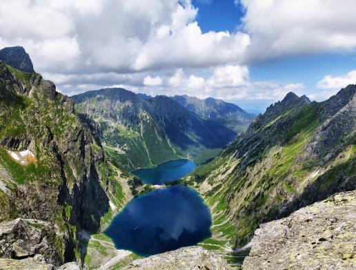Foto-Basics: starkes Bergpanorama
