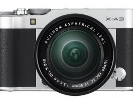 Die neue Fujifilm X-A3: Einstiegsmodell für Selfie-Fans